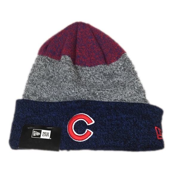 Chicago Cubs New Era Beanie Hat Cap aba9d265264